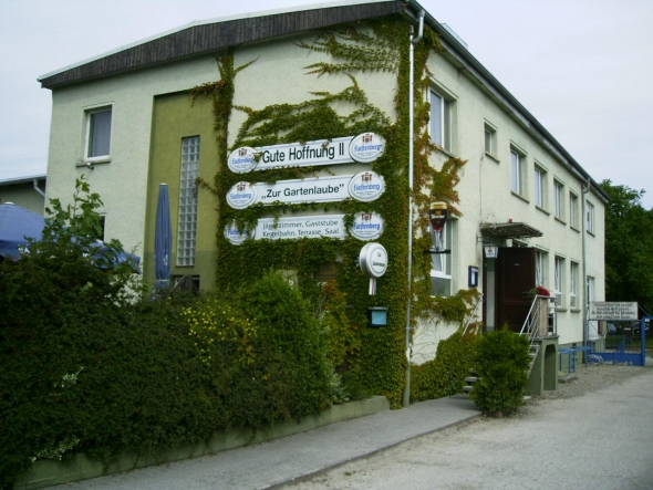 """Gaststätte """"Zur Gartenlaube"""""""